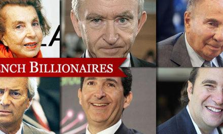 Care sunt cei mai bogati oameni de afaceri din Franta