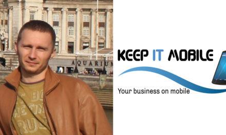 Vicentiu Corbu – Keep It Mobile – A dezvolta si a crea pentru Romania este o adevarata onoare