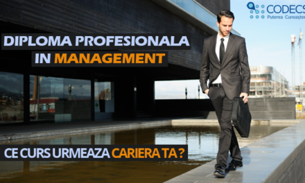 Februarie – Noiembrie 2018, Bucuresti, Diploma Profesionala in Management