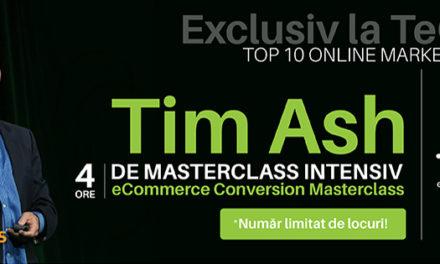 TeCOMM il aduce in Romania pe Tim Ash: