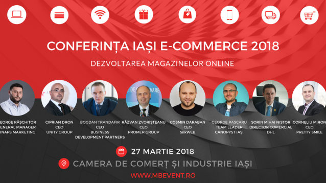 Conferinta Iasi E-Commerce 2018