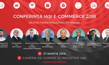 CONFERINȚA IAȘI E-COMMERCE 2018
