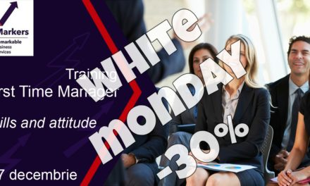 White Monday la trainingul First Time Manager! -30%
