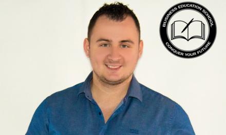 Iulian Dinu – Fitness Education School & Business Education School – Intotdeauna merg pe premiza: nu renunta oricat de greu este, oricat de multe piedici iti pune viata