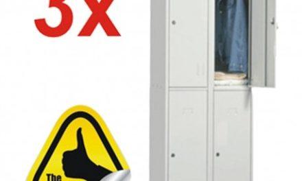 Profita de oferta OfficeClass si cumpara cele mai bune modele de vestiar metalic!