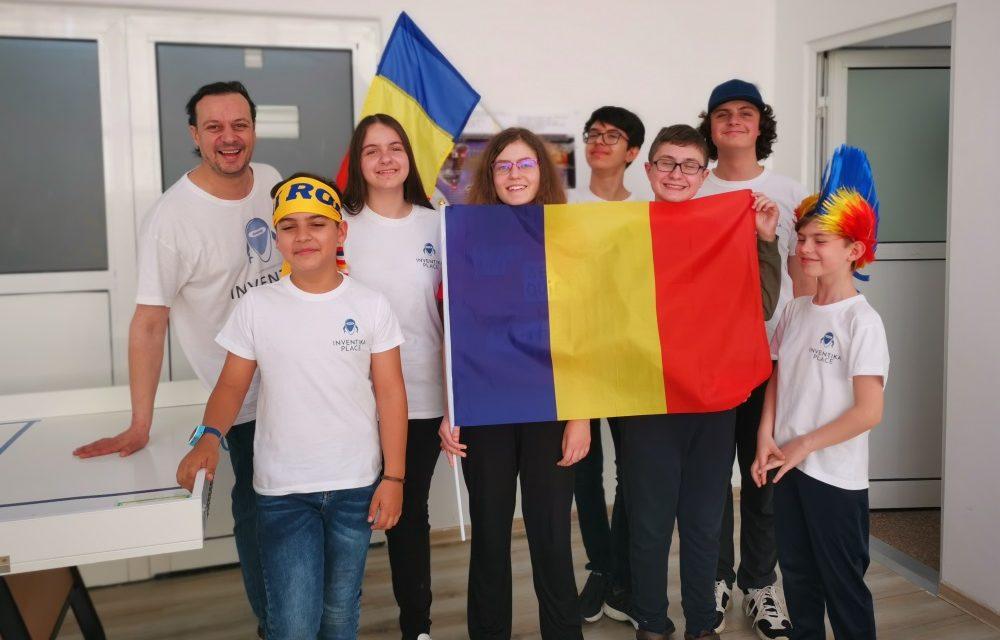 Echipa de robotica Inventika Sensor On participa la FIRST® LEGO® League Open International Liban