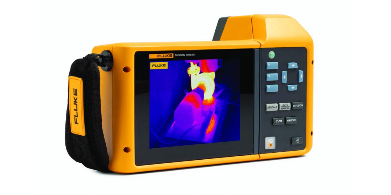 Camerele de termoviziune Fluke Tix 580, unele dintre cele mai performante aparate de masura, disponibile la Ronexprim