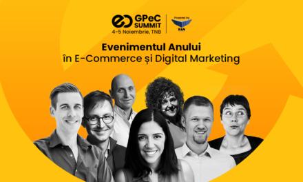 GPeC SUMMIT își anunță startul: pe 4-5 noiembrie are loc evenimentul-cheie de E-Commerce și Digital Marketing al toamnei