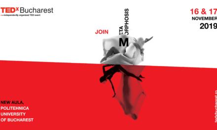 TEDxBucharest2019 | Metamorphosis