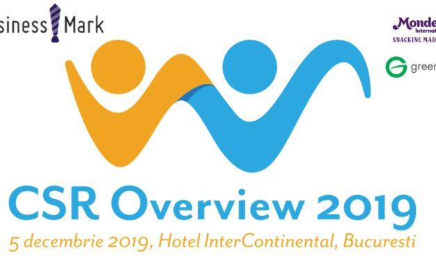 CSR OVERVIEW 2019