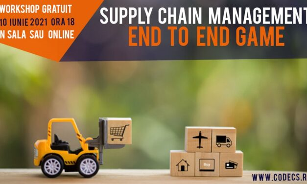 SUPPLY CHAIN MANAGEMENT – END TO END GAME   WORKSHOP GRATUIT